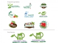 Squirrel Hill Produce to Pantry Volunteer Garden Logos